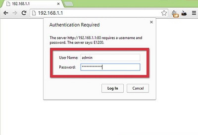 How to Login 192.168.0.1