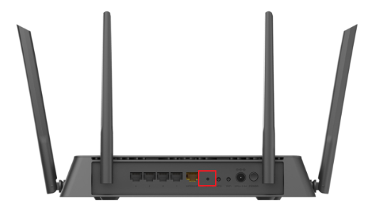Reset the Router To Factory Default Settings